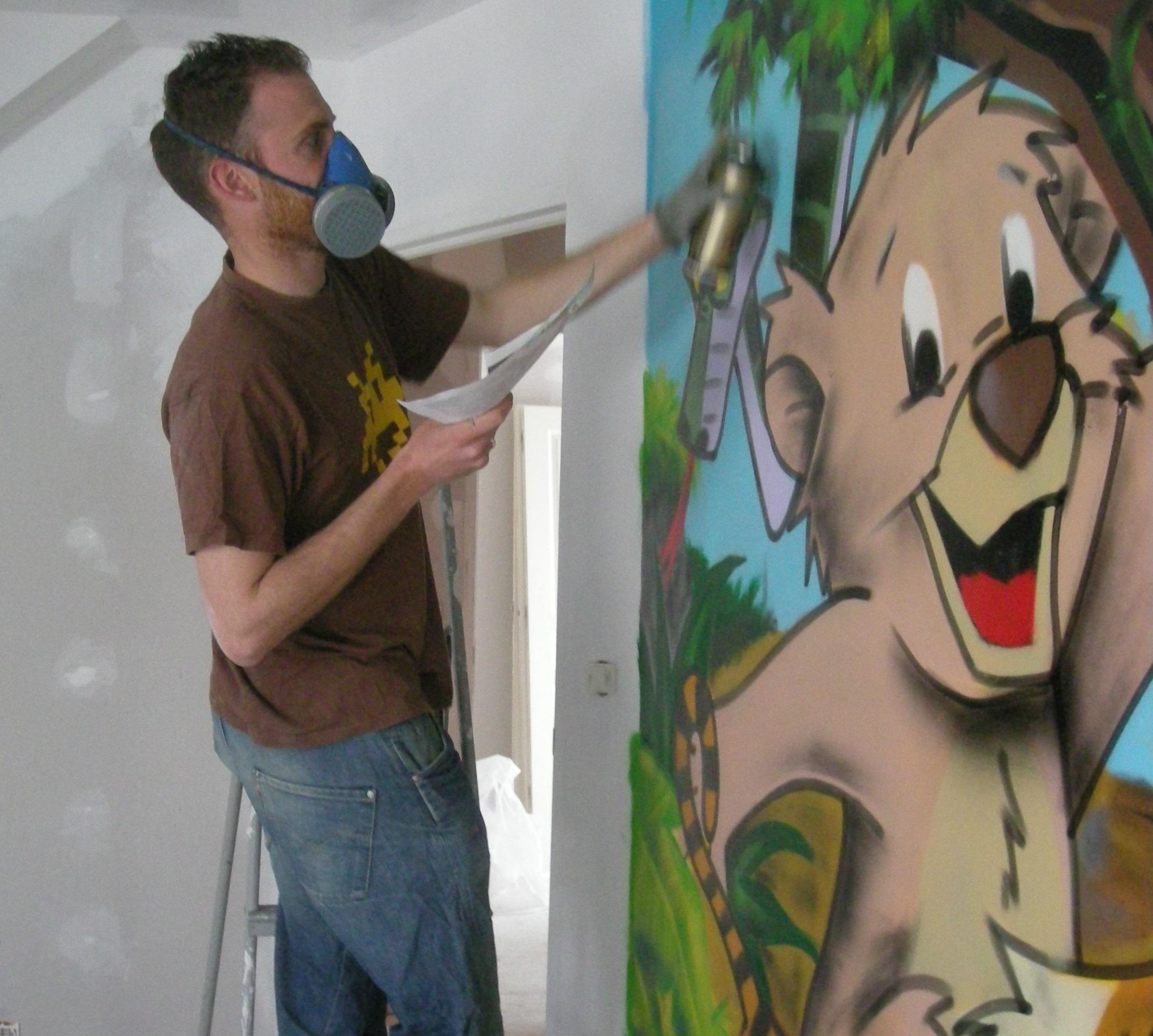 Peinture Tag Pour Chambre graffiti pour les particuliers